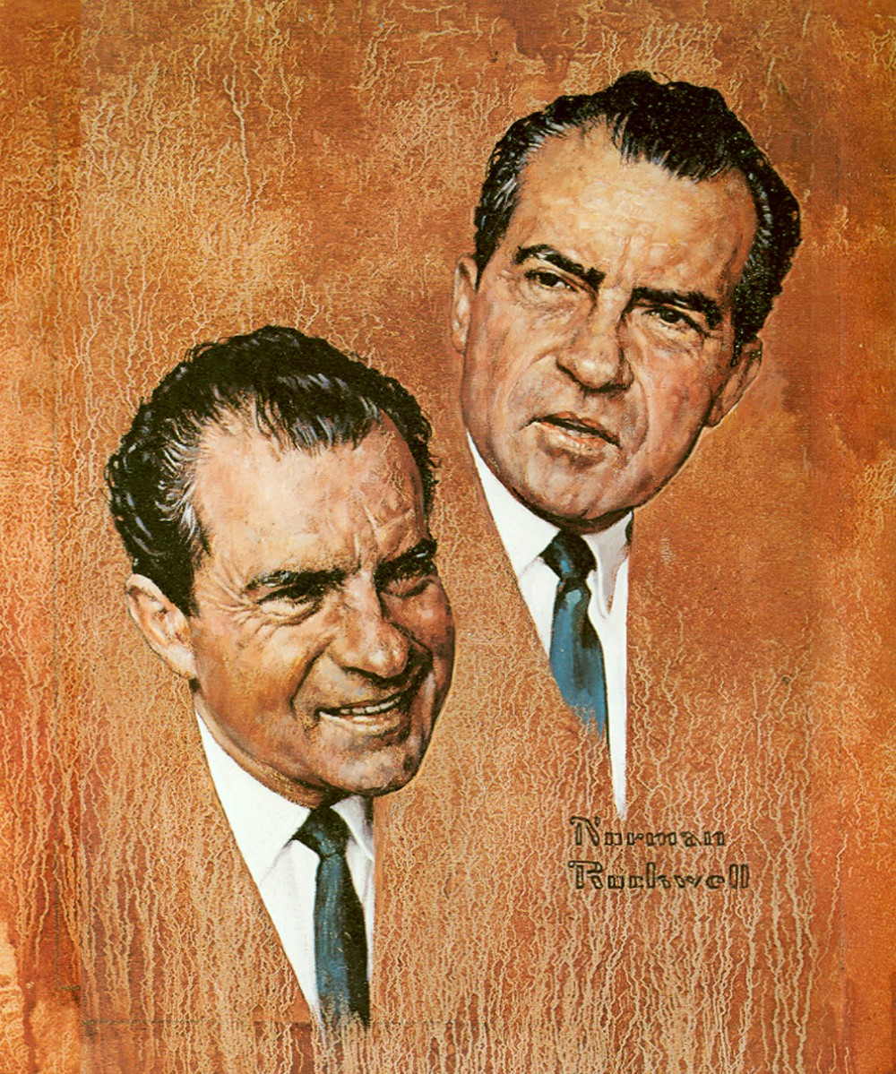 Richard Nixon In Color: World Of Portrait Painting